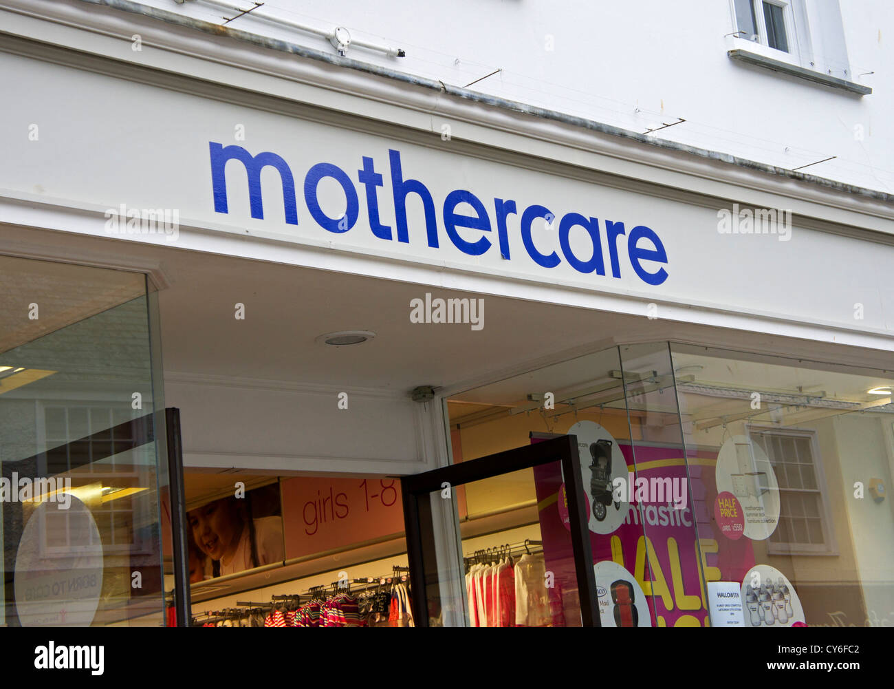A Mothercare stroe in the UK Stock Photo