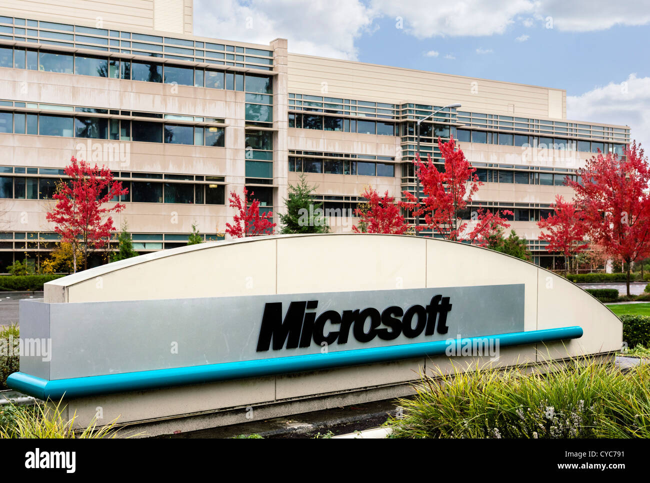 Microsoft Redmond Office Throughout Sign At The Entrance To Microsoft Head Office Campus In Redmond Washington Usa Redmond