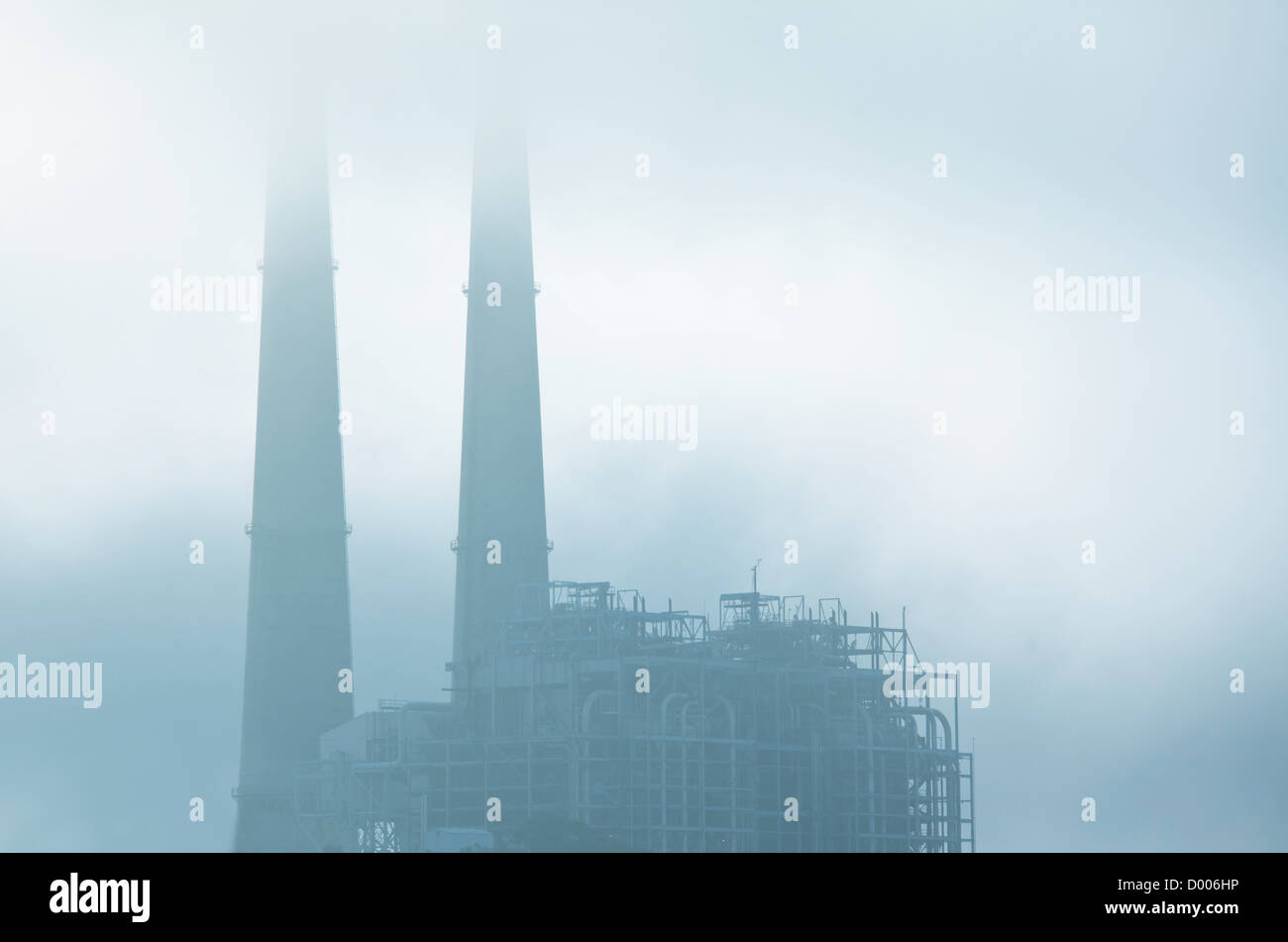 industrial destruction - Stock Image