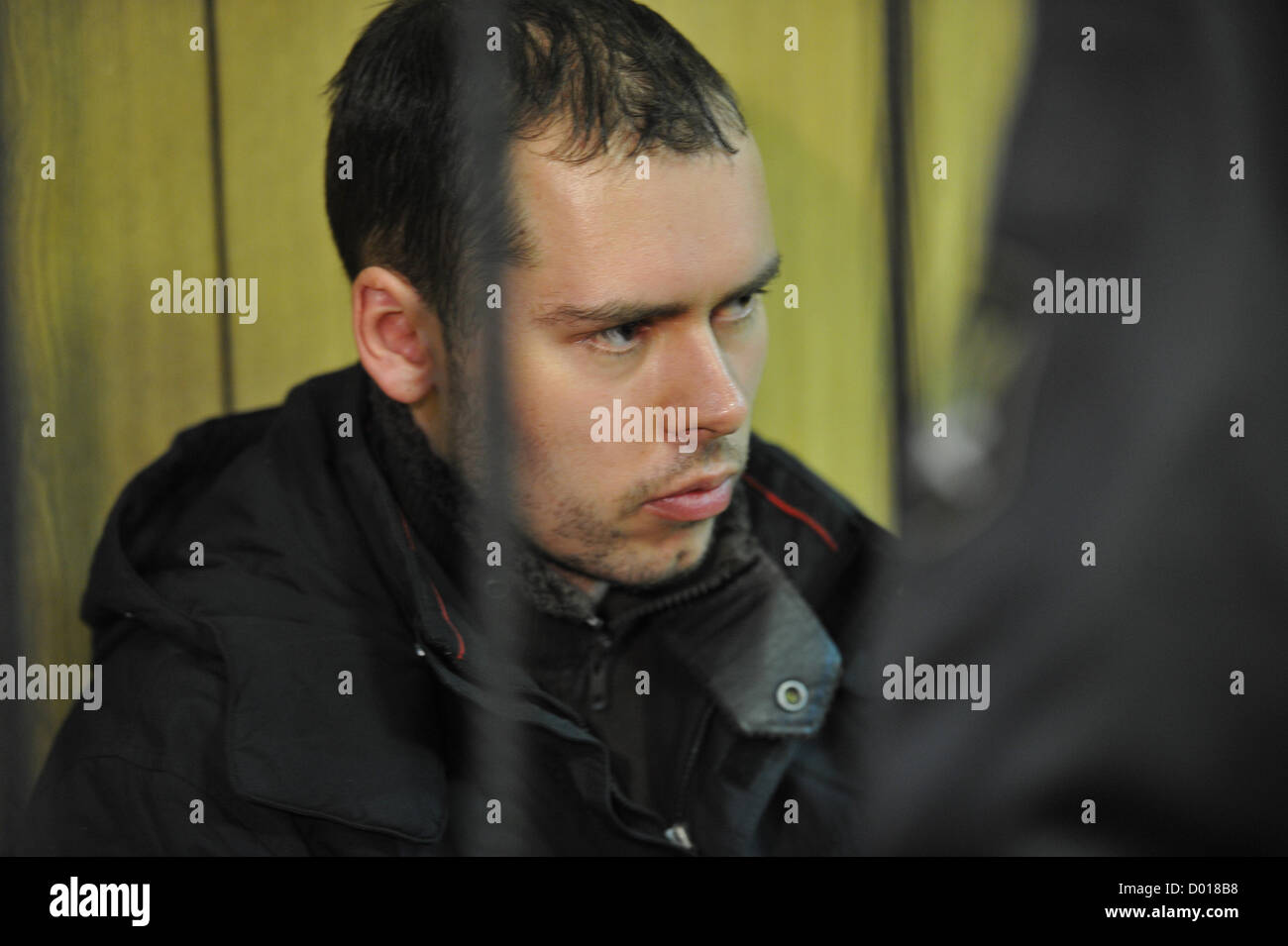 Nov. 8, 2012 - Moscow, Russia - Pictured: Dmitri Vinogradov - a man dubbed the 'Russian Breivik' in Babushkinsky - Stock Image