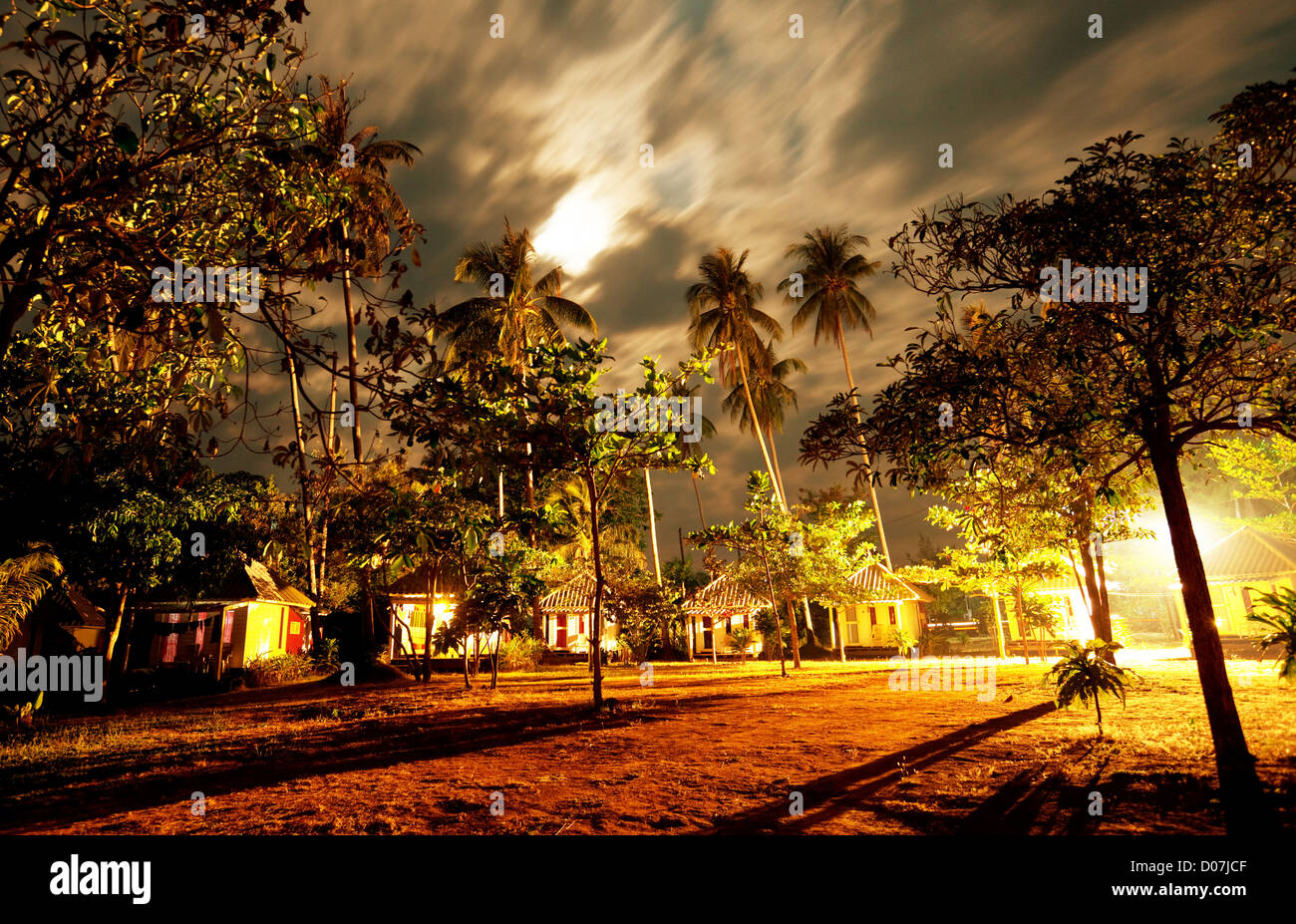 night scene - Stock Image