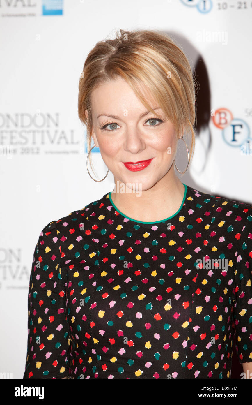 sheridan smith at a Photocall at the Empire theatre FOR THE BFI London film festival, Leicester Square for the film - Stock Image