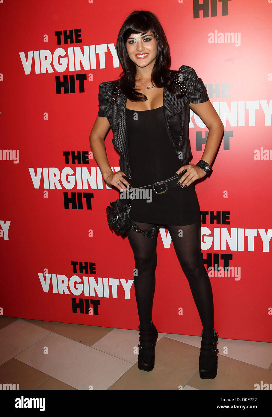 """sunny leone special kroq screening of """"the virginity hit"""" held the"""