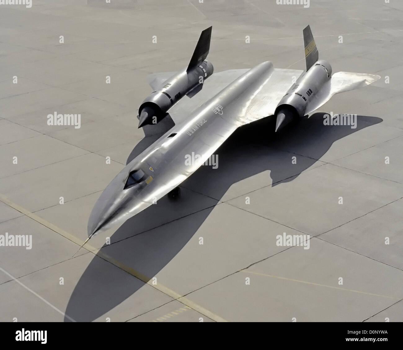 YF-12 on Ramp - Stock Image