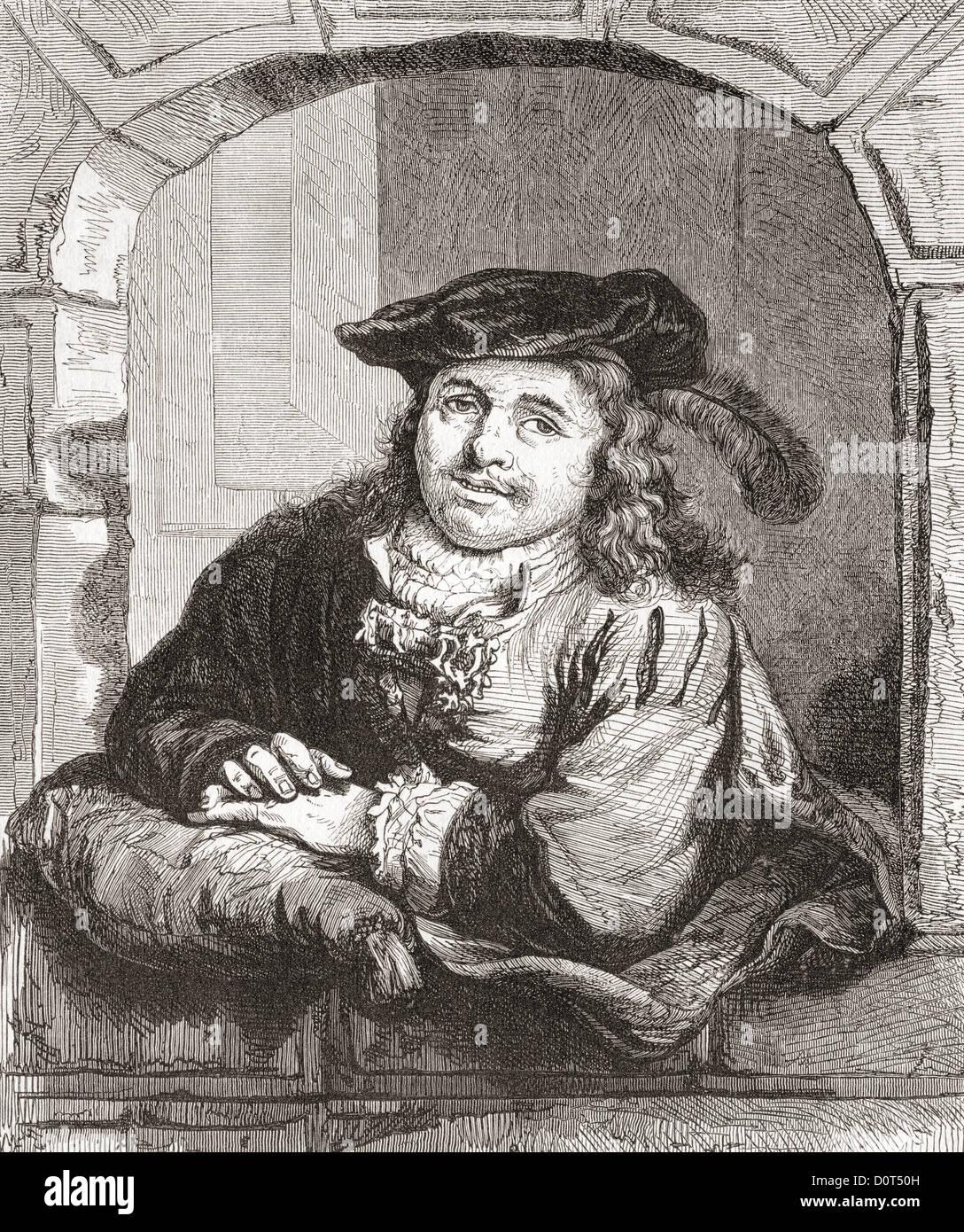 Ferdinand Bol, 1616 –1680. Dutch artist, etcher and draftsman. - Stock Image