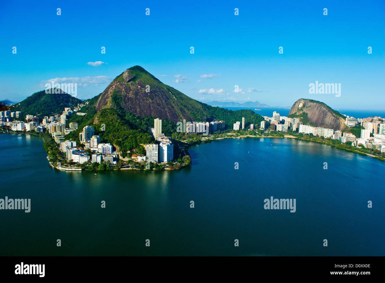Lagoa, Rio de Janeiro, Brazil - Stock Image
