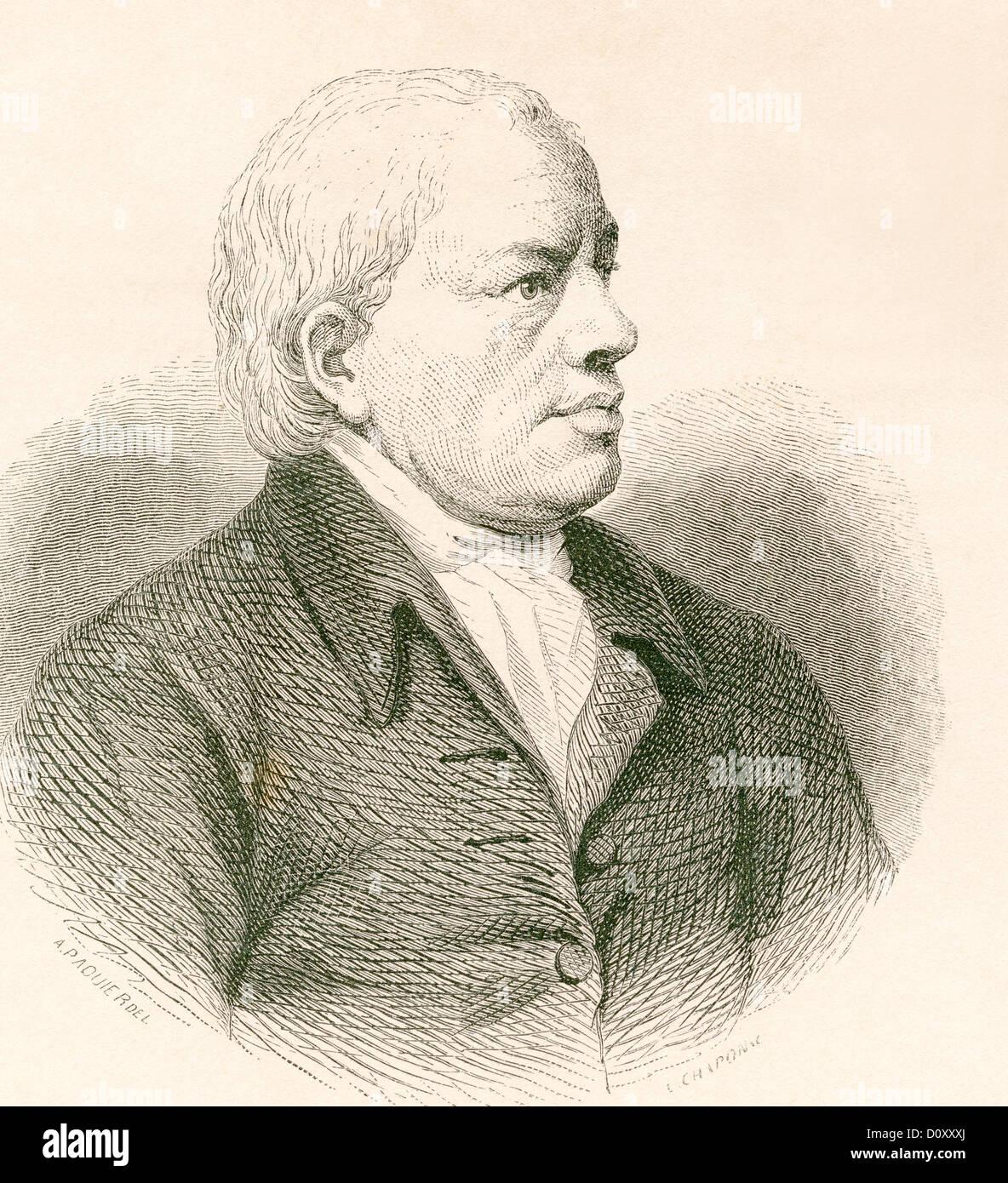 James Barry, 1741 – 1806. Irish artist. - Stock Image