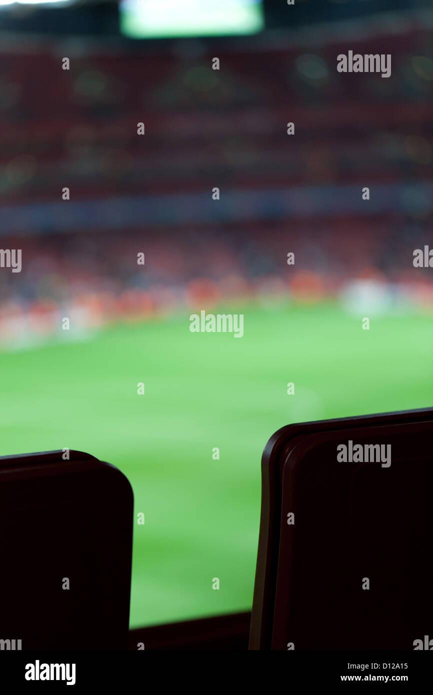 Sports stadium - Stock Image