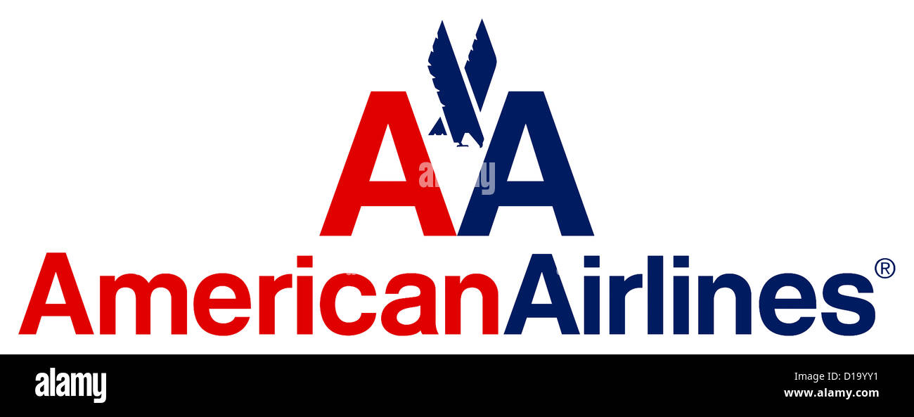 Logo Of The American Airline Company American Airlines Aa With Seat