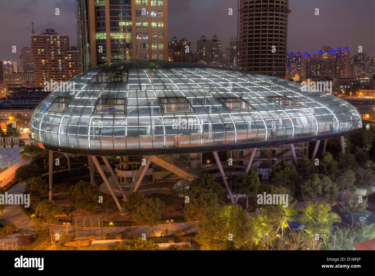 The International Cruise Terminal, Shanghai, China. - Stock Image