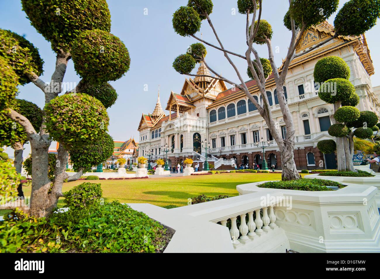 Chakri Maha Prasat Hall, Grand Palace, Bangkok, Thailand, Southeast Asia, Asia - Stock Image