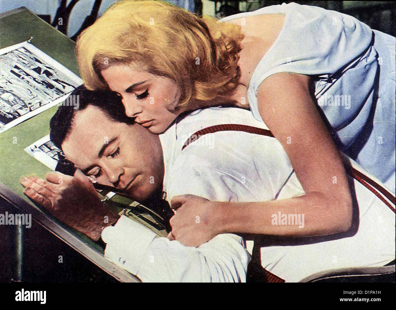 jack lemmon virna lisi murder stock photos jack lemmon virna lisi murder stock images alamy. Black Bedroom Furniture Sets. Home Design Ideas