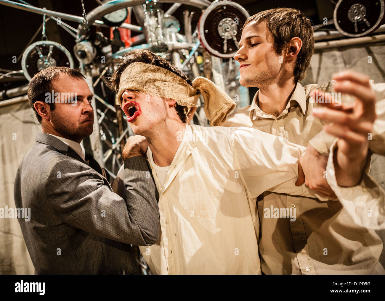 """""""To Kill a Machine"""" a new play about the life of wartime code-breaker and artificial intelligence pioneer Alan Turing. Stock Photo"""