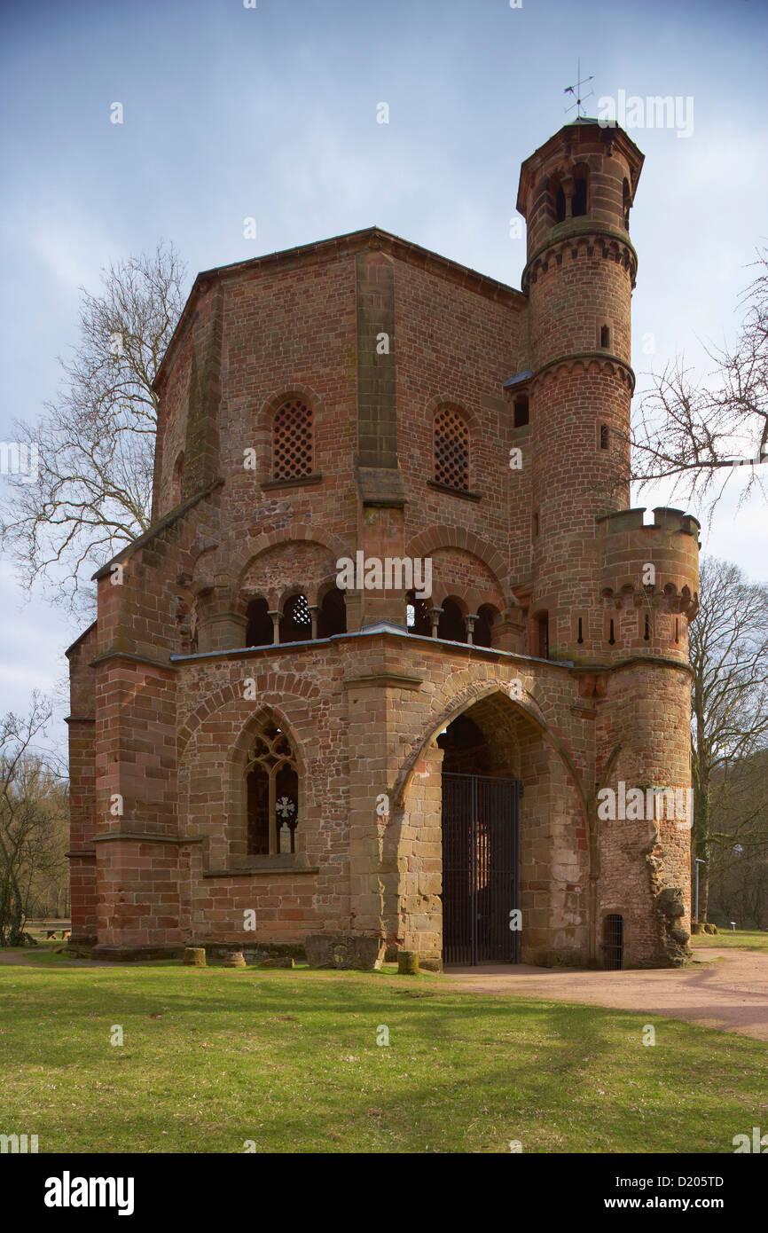 Villeroy Und Boch Mettlach tower in the park of the adventure center villeroy