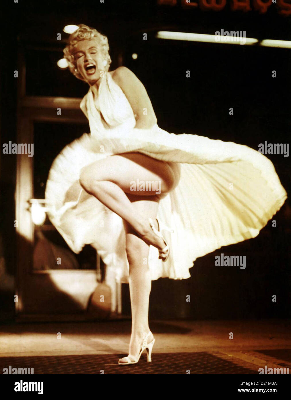 THE SEVEN YEAR ITCH  1955 20th Century Fox film with Marilyn Monroe - Stock Image