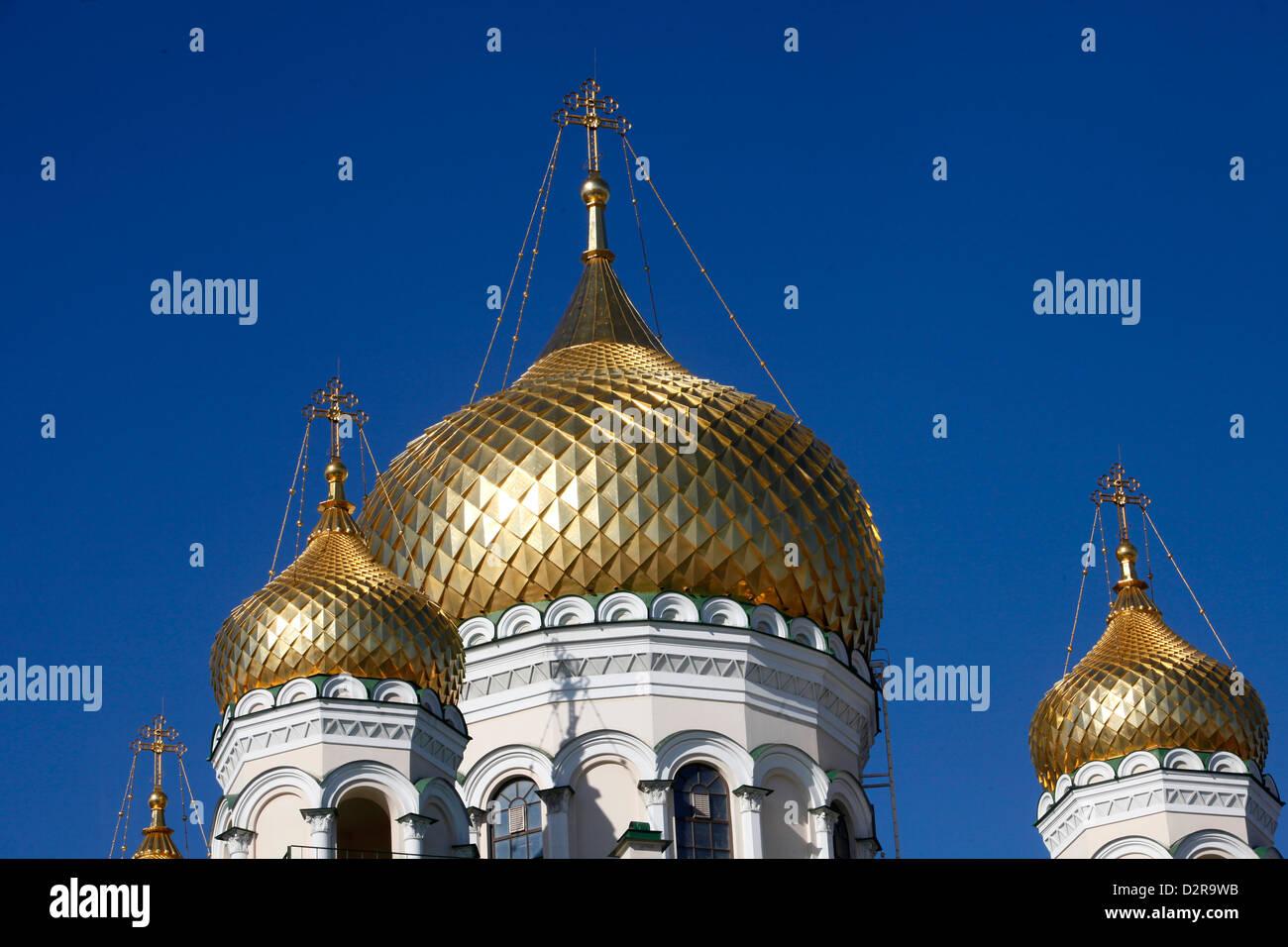Russian Orthodox church, St. Petersburg, Russia, Europe - Stock Image