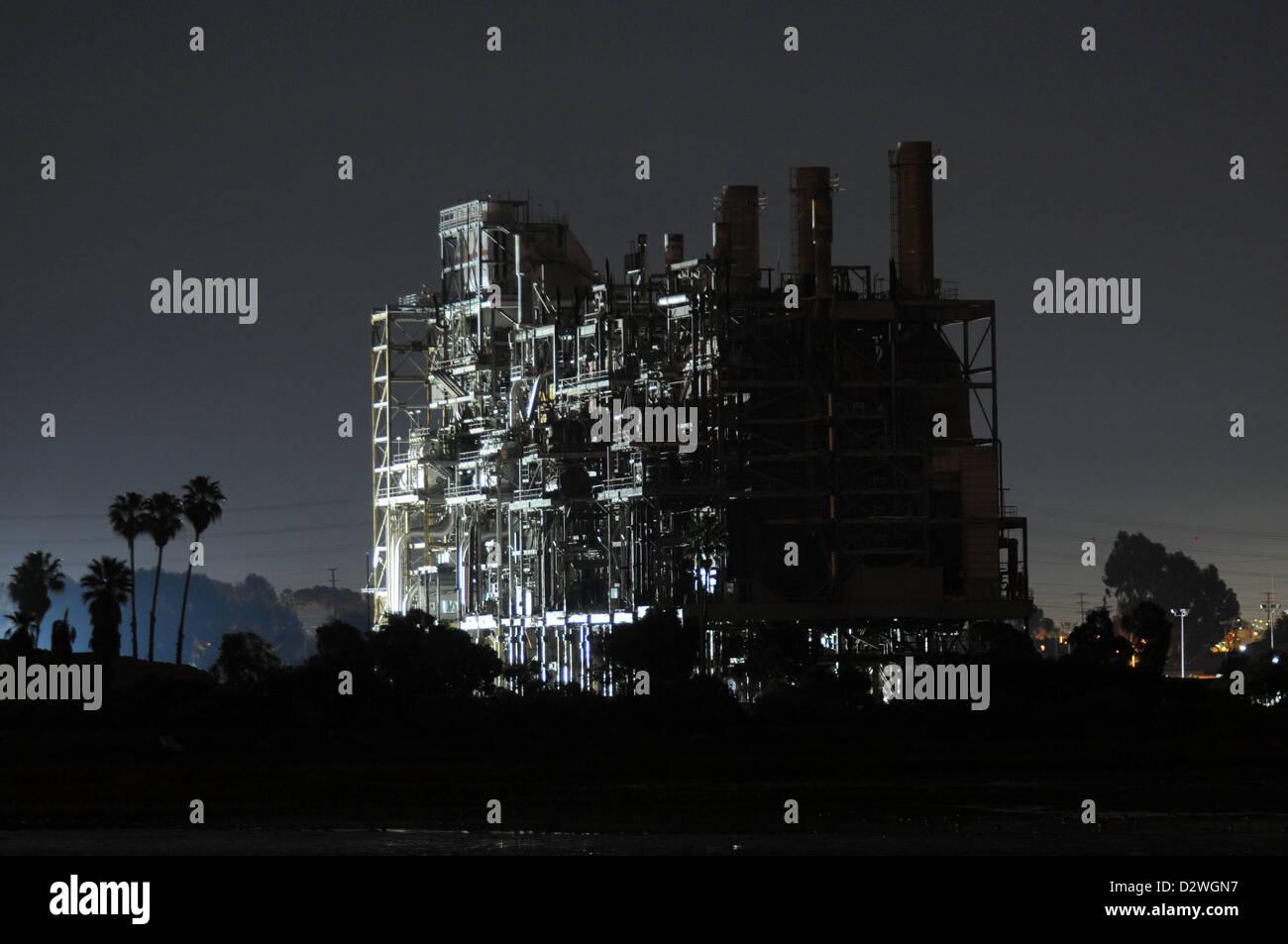 Feb. 2, 2013 - California, U.S. - The Southbay Power Plant, a ...