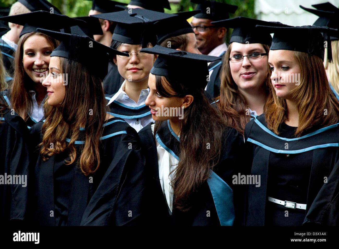 Graduation day ( in the rain), University of Birmingham, Birmingham ...