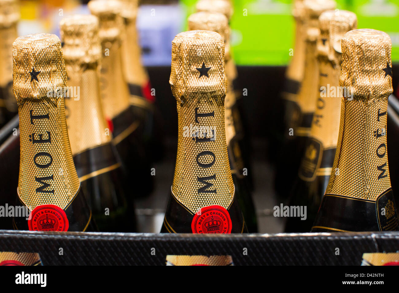 Moet champagne on display at a costco wholesale warehouse club stock moet champagne on display at a costco wholesale warehouse club thecheapjerseys Images