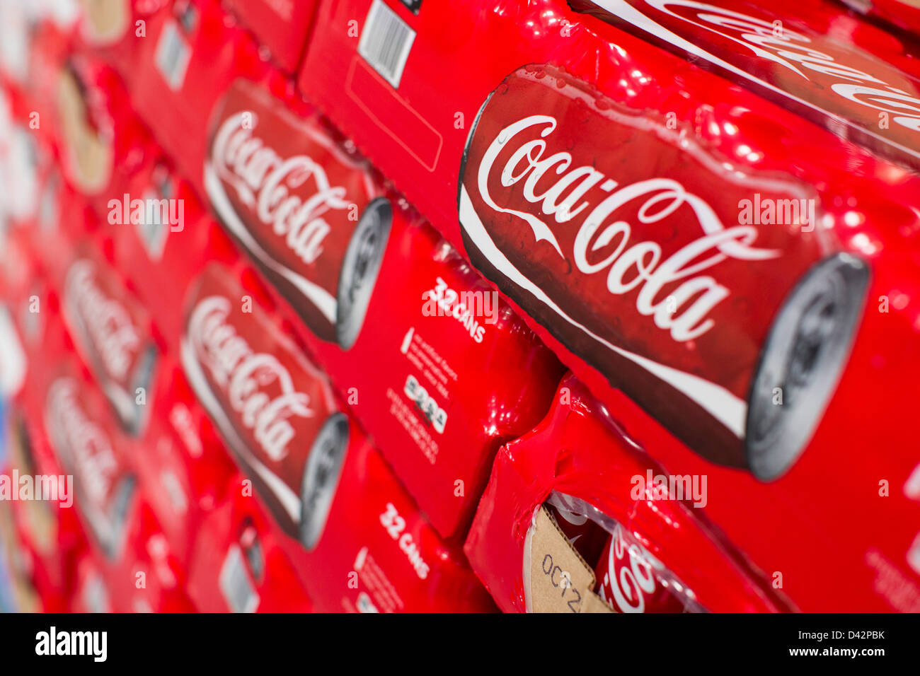 Coca cola products on display at a costco wholesale warehouse club coca cola products on display at a costco wholesale warehouse club thecheapjerseys Images