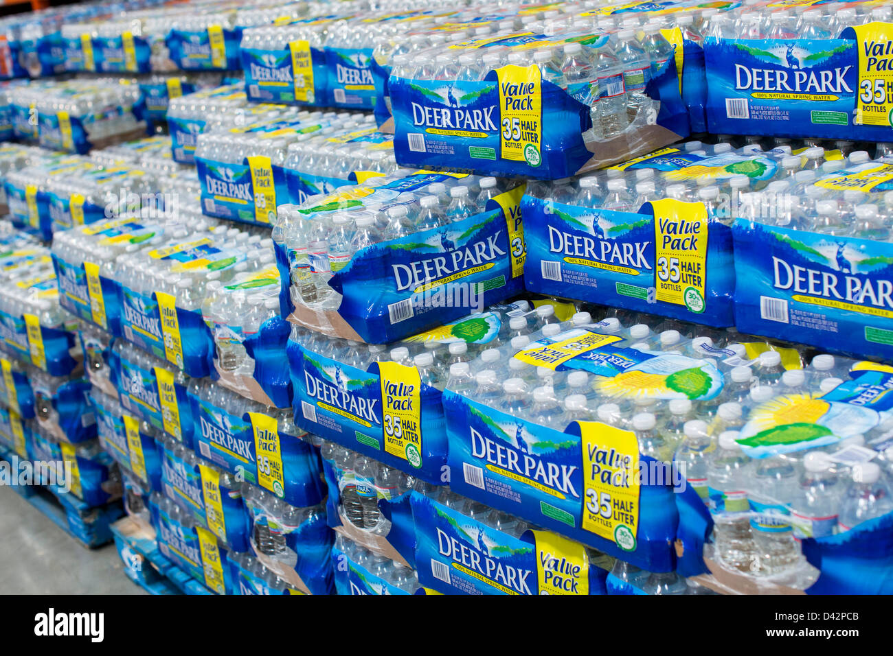 Deer park bottled water on display at a costco wholesale warehouse deer park bottled water on display at a costco wholesale warehouse club thecheapjerseys Images