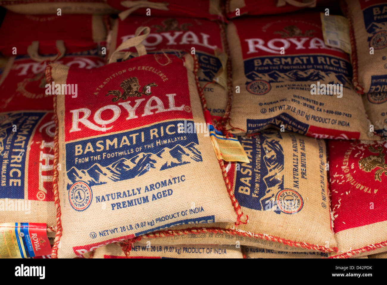 Basmati rice on display at a costco wholesale warehouse club stock basmati rice on display at a costco wholesale warehouse club thecheapjerseys Images