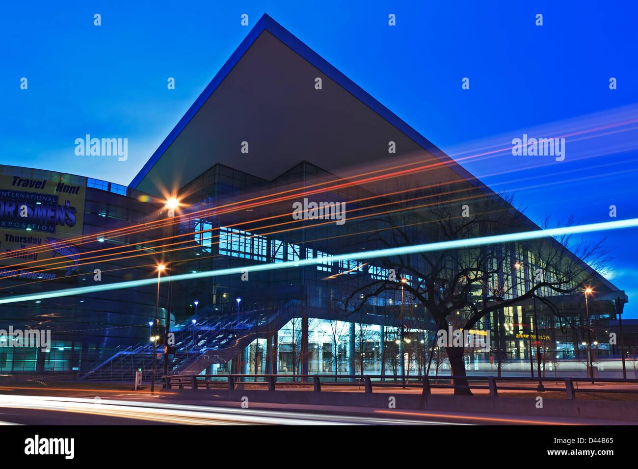 Colorado Convention Center, Denver, Denver, Colorado USA - Stock Image