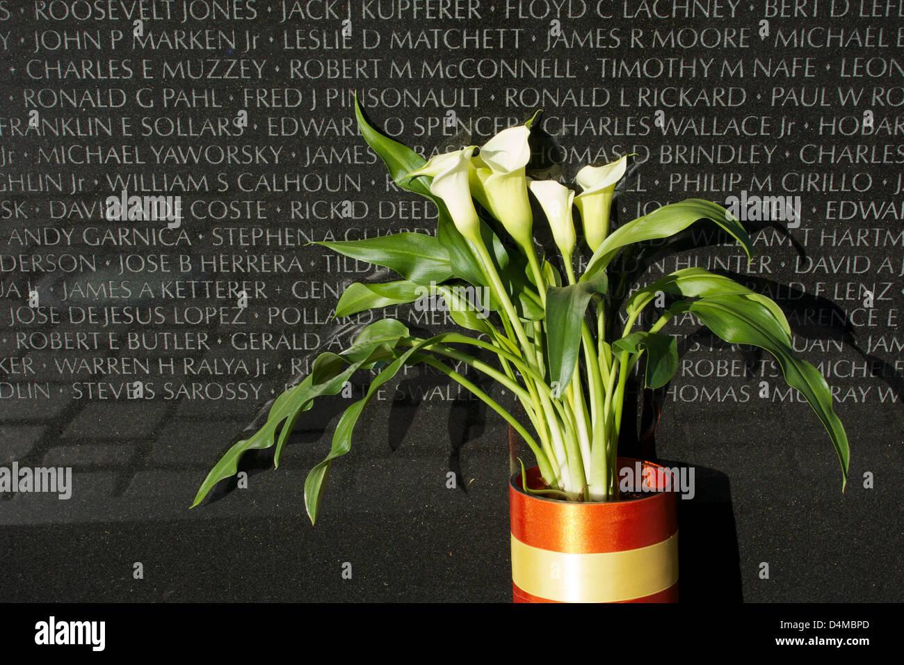 calla-lilies-left-at-vietnam-war-memoria
