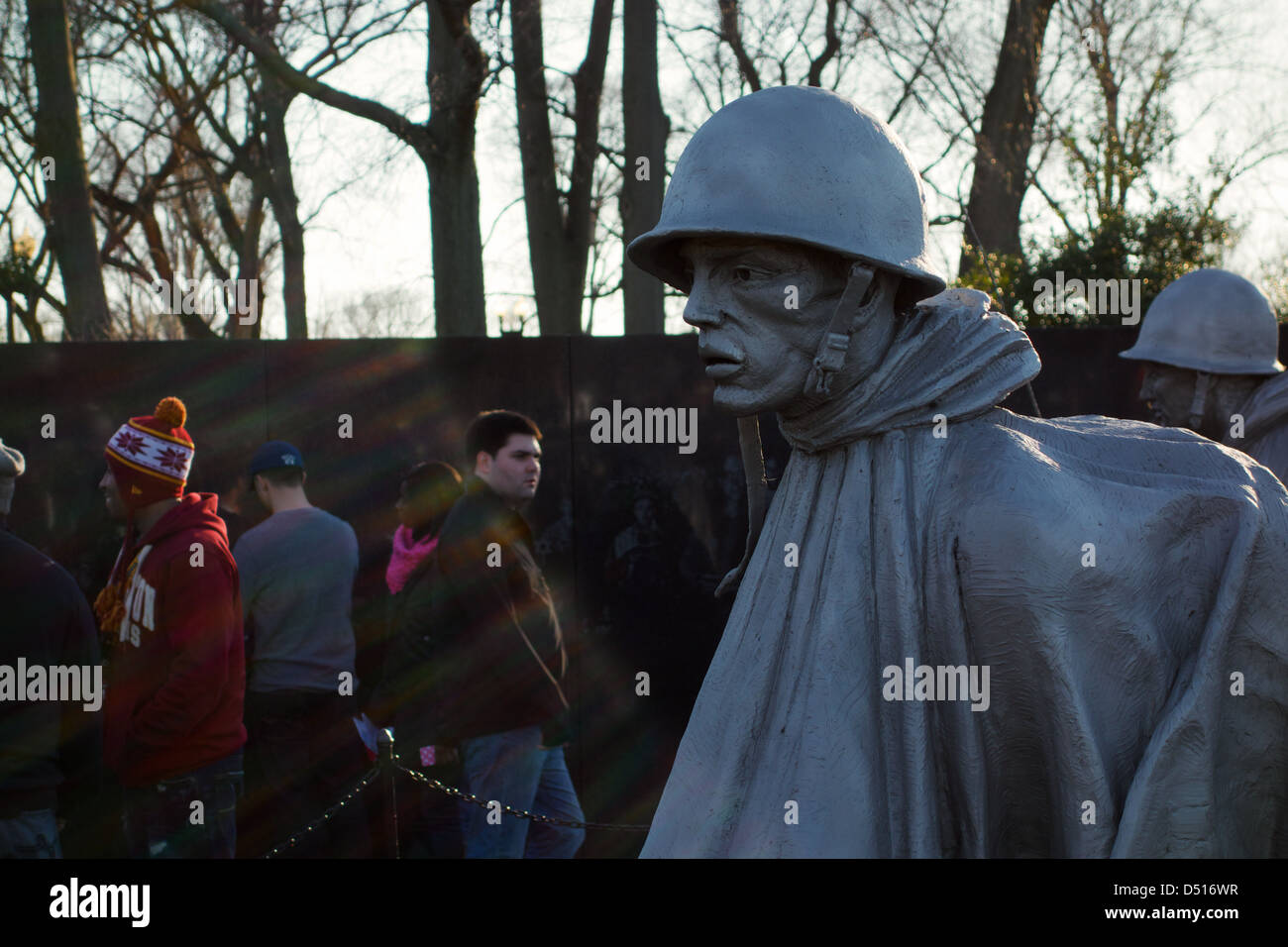 korean-war-memorial-washington-dc-D516WR