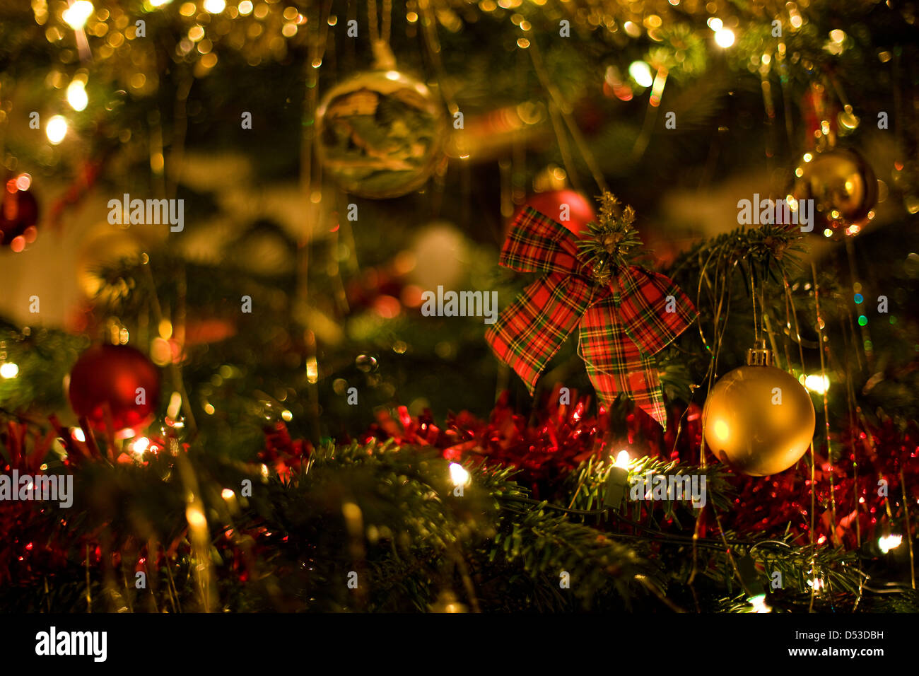 Scottish Christmas Tree Decorations Stock Photo: 54780757 - Alamy