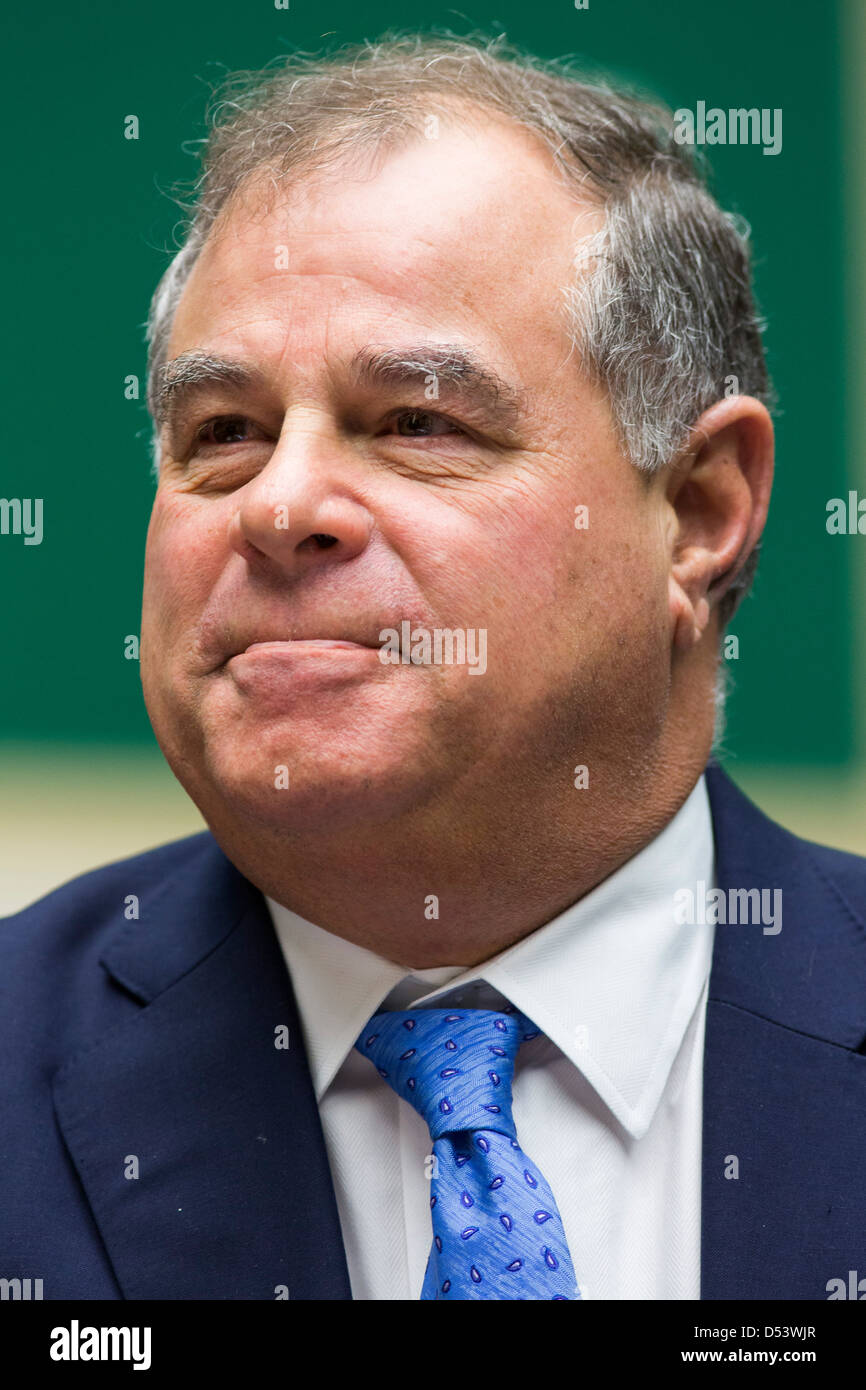 Joe Carrabba, Chairman, President and CEO of Cliffs Natural Resources, Inc., - Stock Image