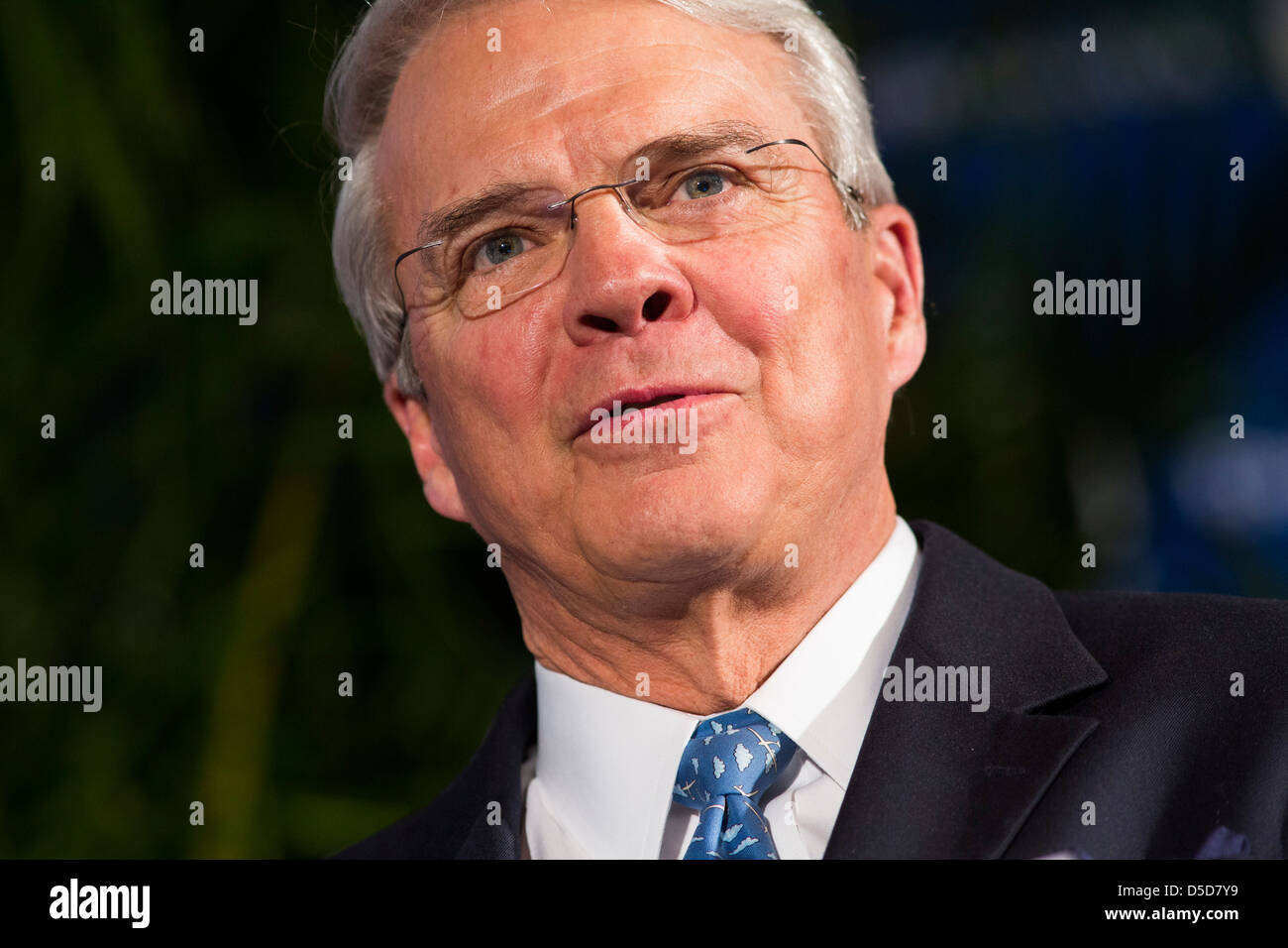 T. Allan McArtor, Chairman of Airbus Americas. - Stock Image