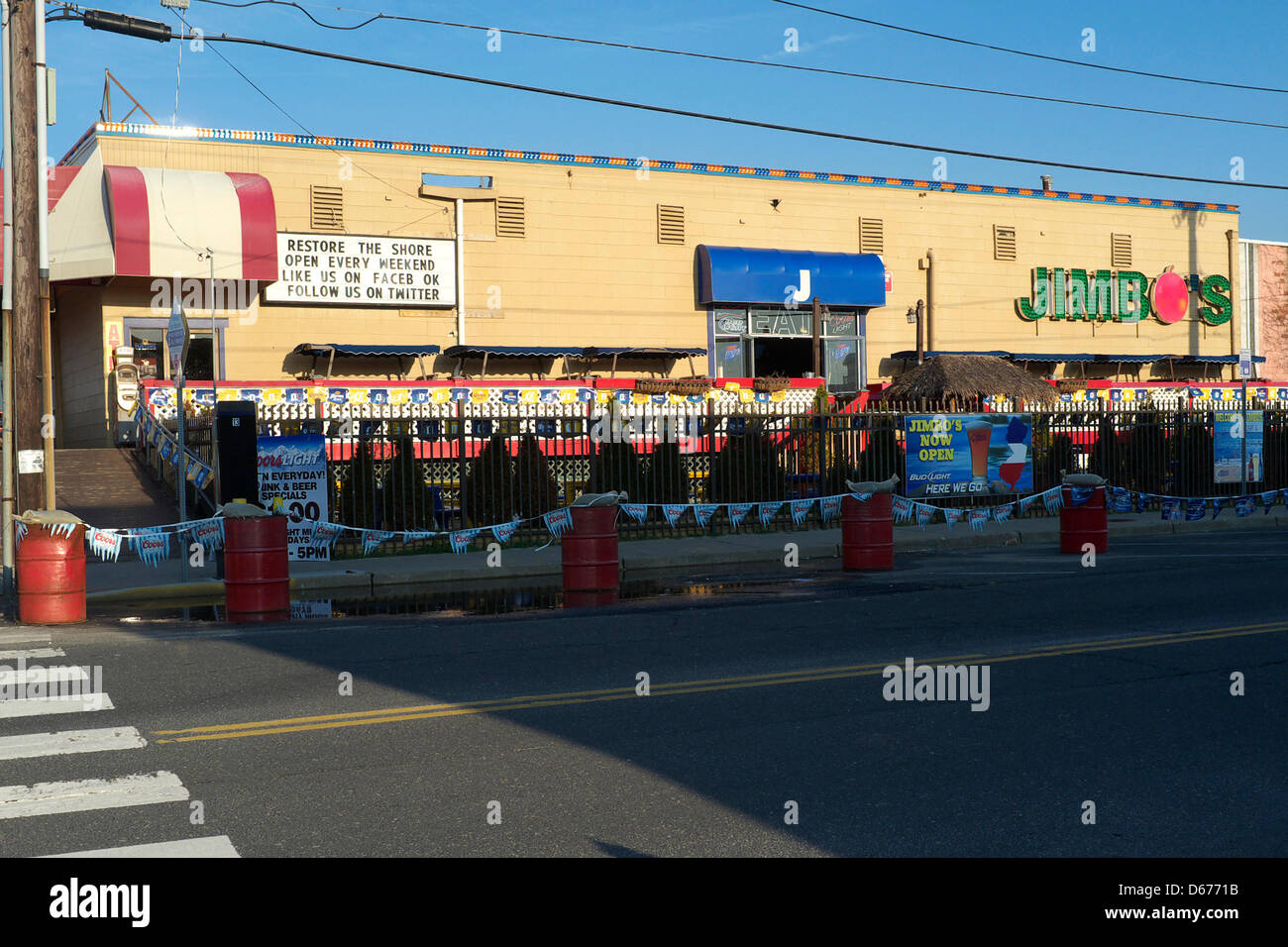 Jimbos Restaurant And Bar In Seaside Heights Nj Usa The Very Well