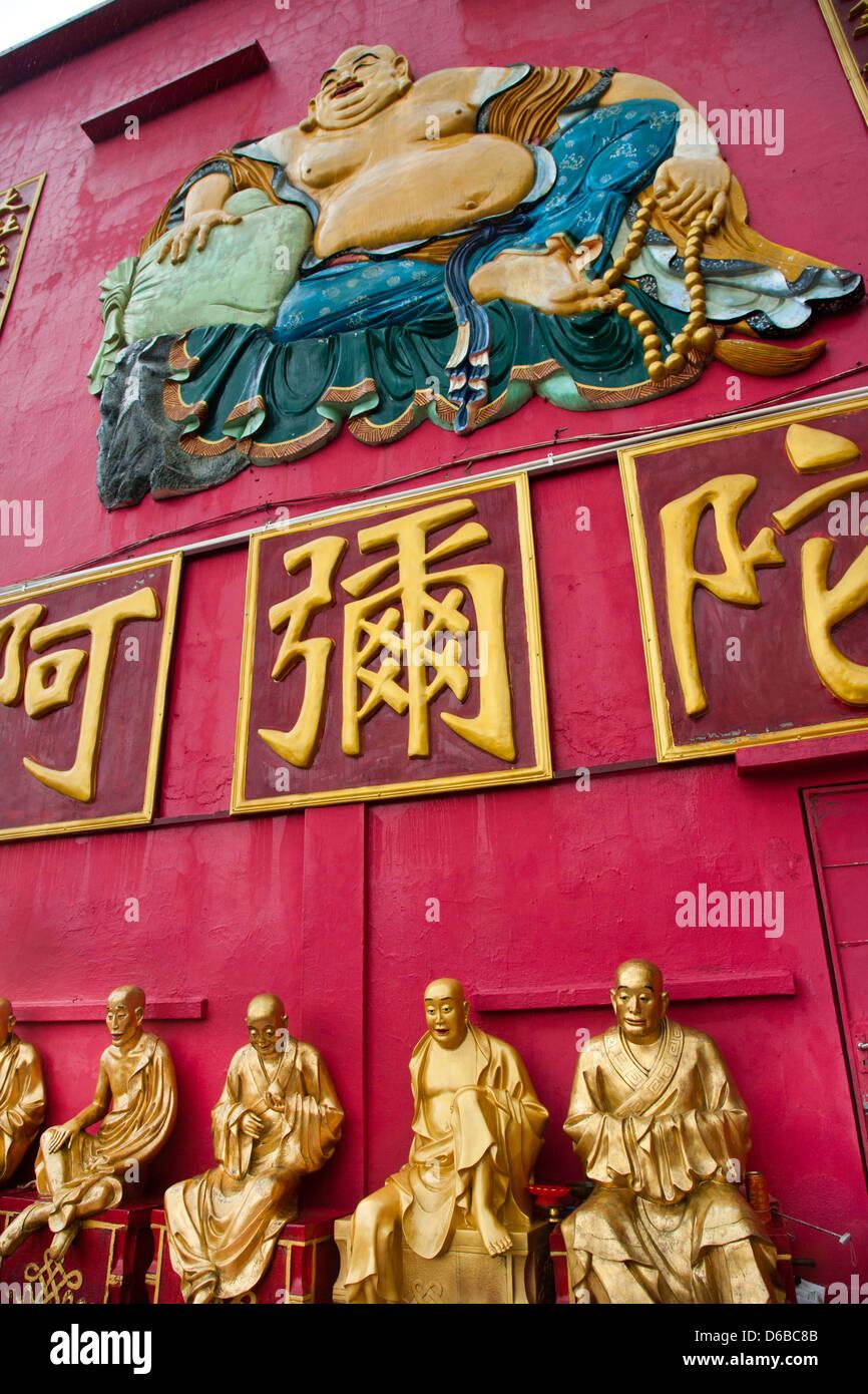 Hong Kong, Sha Tin, Pai Tau Village, Ten Thousand Buddhas Monastery, Man Fat Tsz - Stock Image