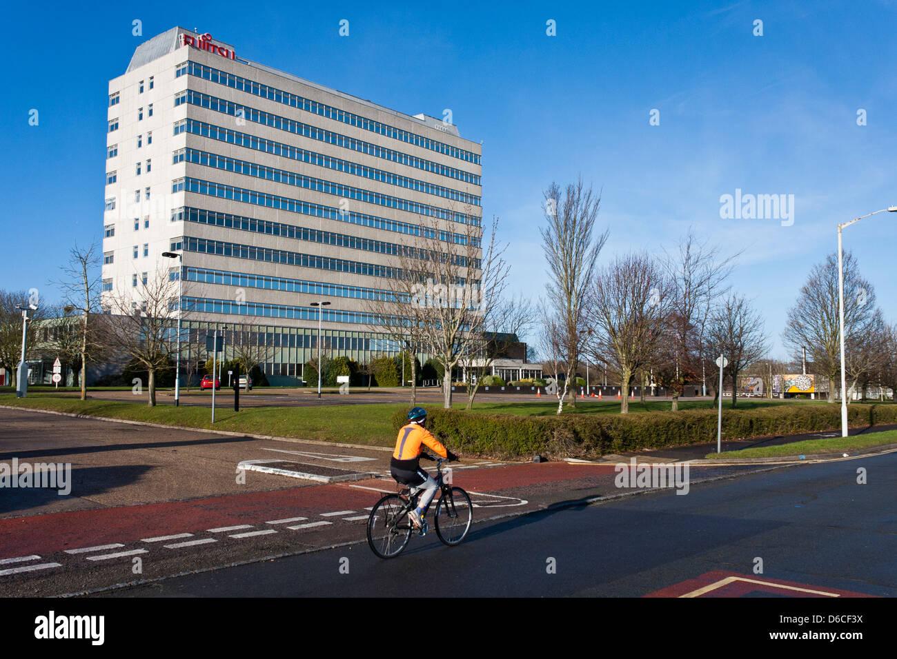 Fujitsu office building in Bracknell, Berkshire, UK Stock Photo