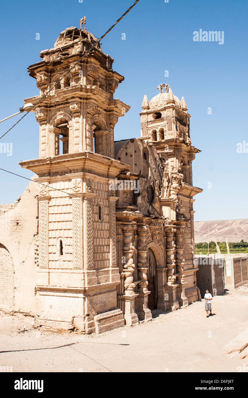 Church of San José (Iglesia de San José), in El Ingenio district, built by Spanish settlers in 18th century. - Stock Image
