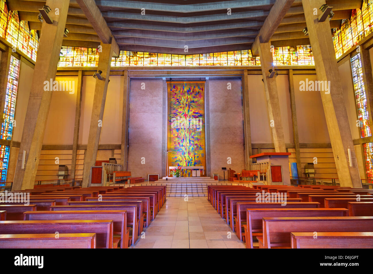 Saint Michel du Havre Church, Le Havre, Normandy, France, Europe - Stock Image