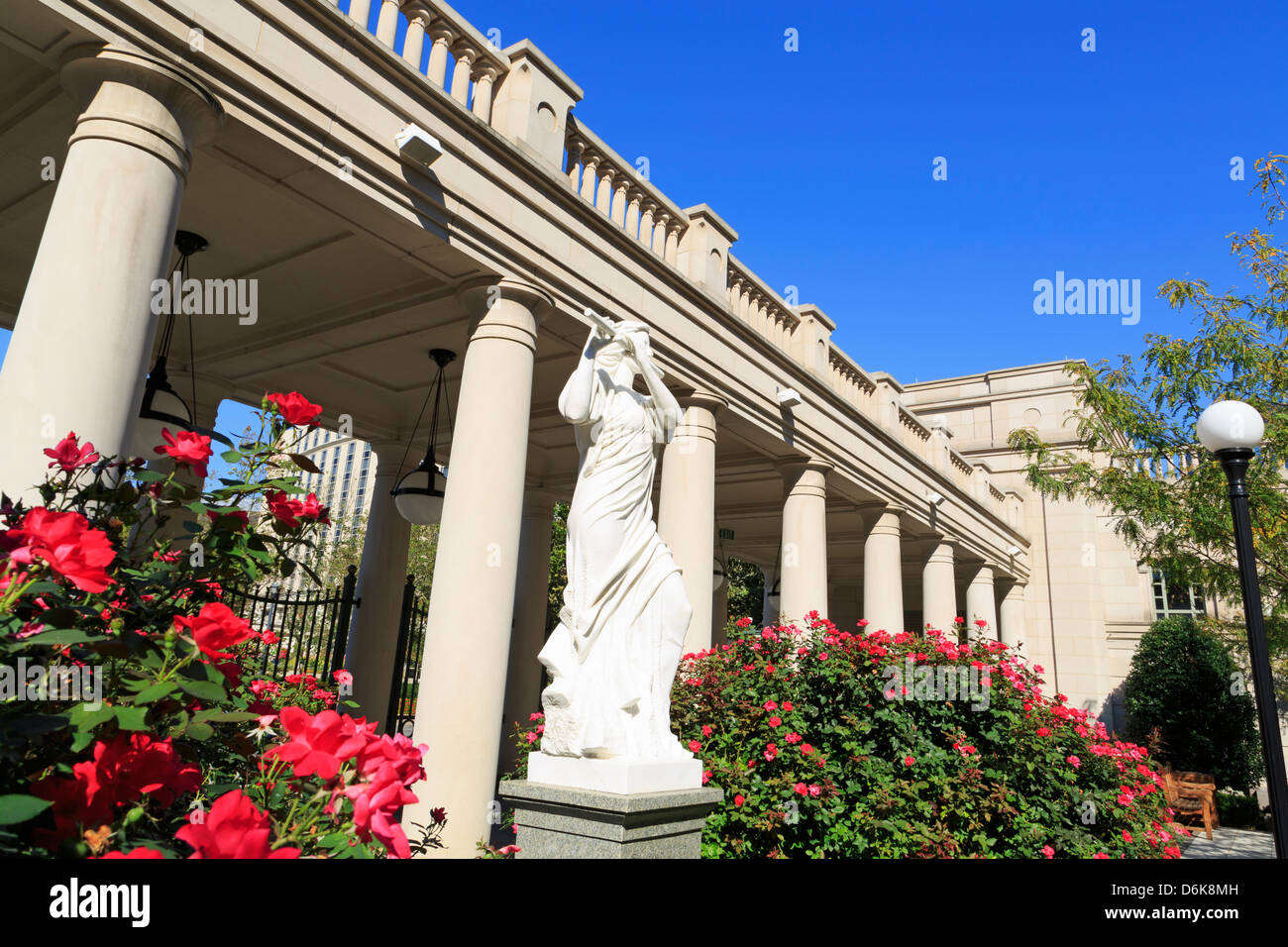 Schermerhorn Symphony Hall, Nashville, Tennessee, United States of America, North America - Stock Image