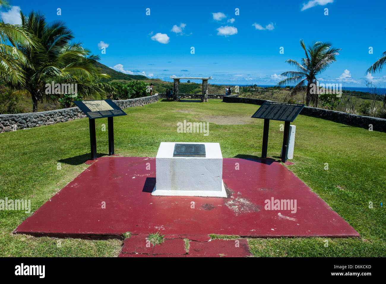 War Memorial, Guam, US Territory, Central Pacific, Pacific - Stock Image