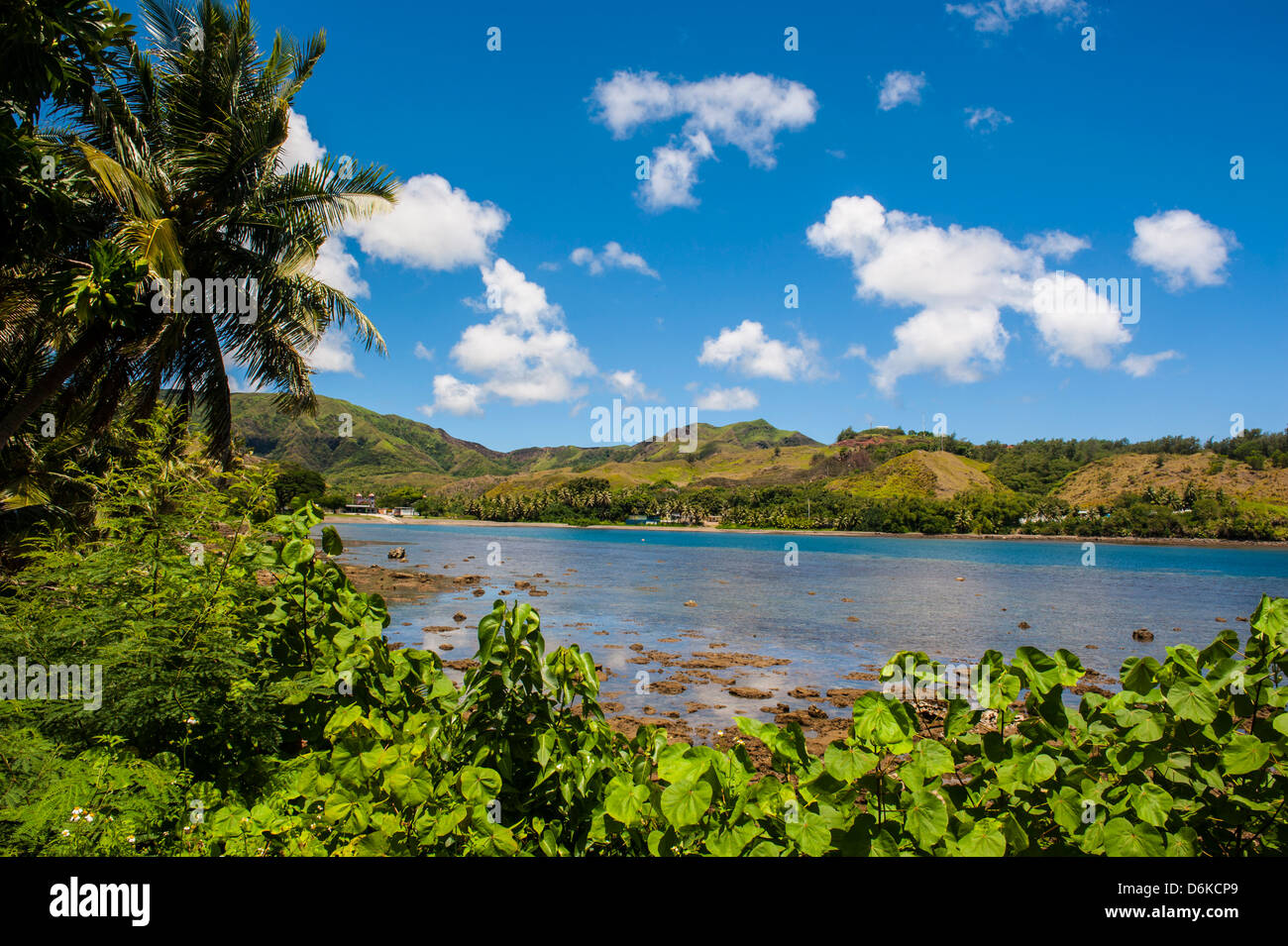 Umatac Bay, Guam, US Territory, Central Pacific, Pacific - Stock Image