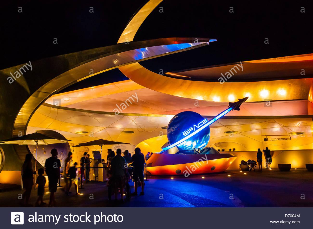 Mission:Space, Epcot, Walt Disney World, Orlando, Florida USA - Stock Image