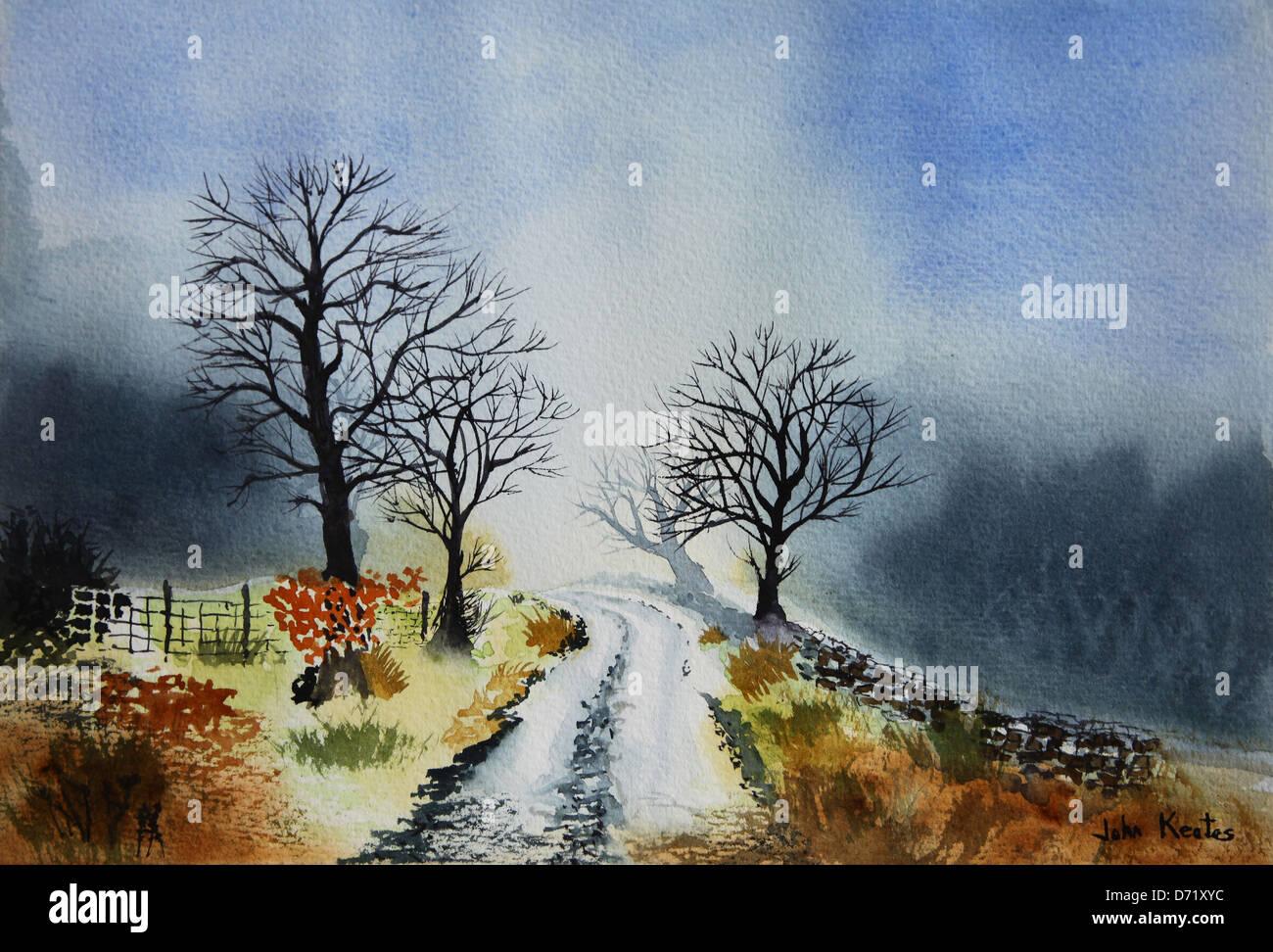 original-watercolour-landscape-painting-by-the-artist-john-keates-D71XYC.jpg