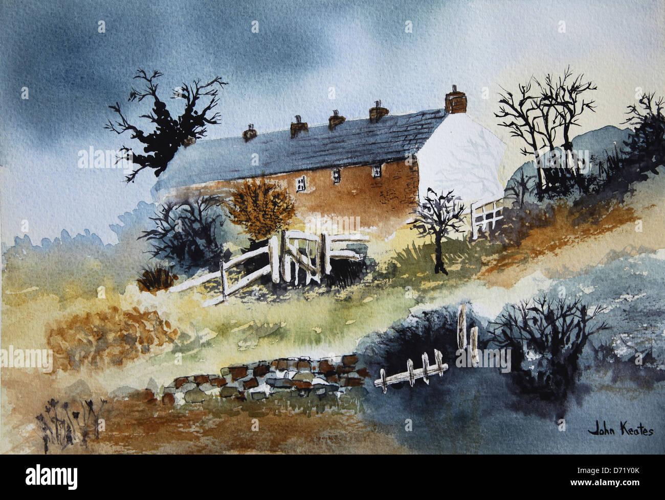 original-watercolour-landscape-painting-by-the-artist-john-keates-D71Y0K.jpg