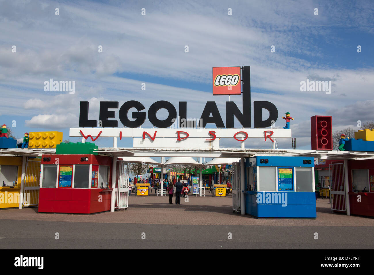 Legoland, Windsor, Berkshire, United Kingdom Stock Photo