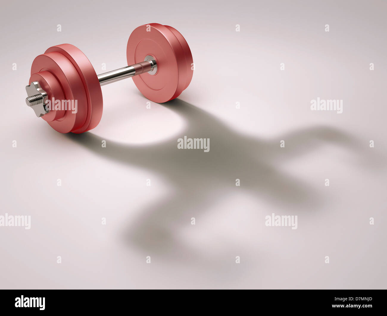 Strength, conceptual artwork - Stock Image