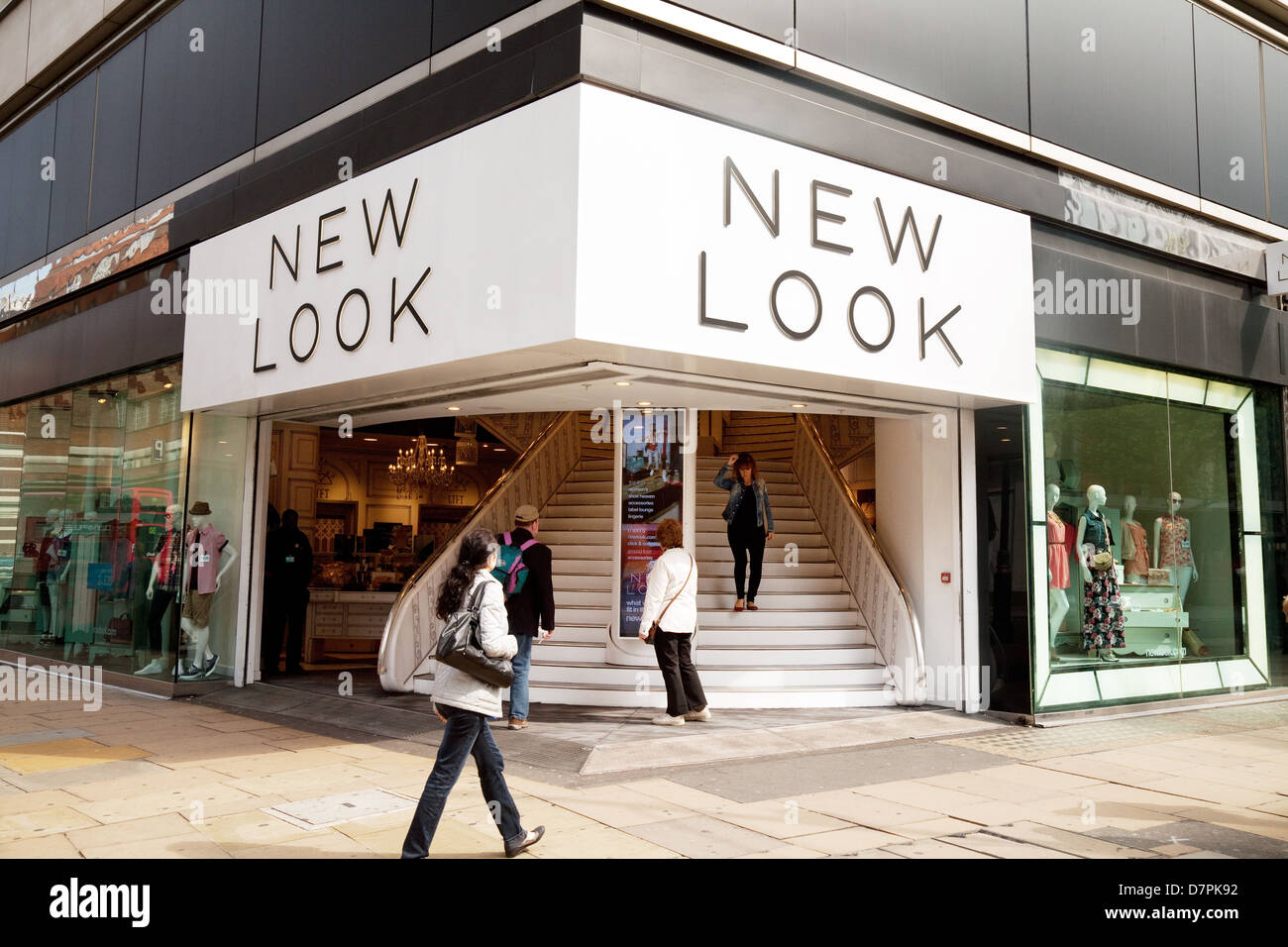 New Look store shop, Oxford Street, central London, UKStock Photo