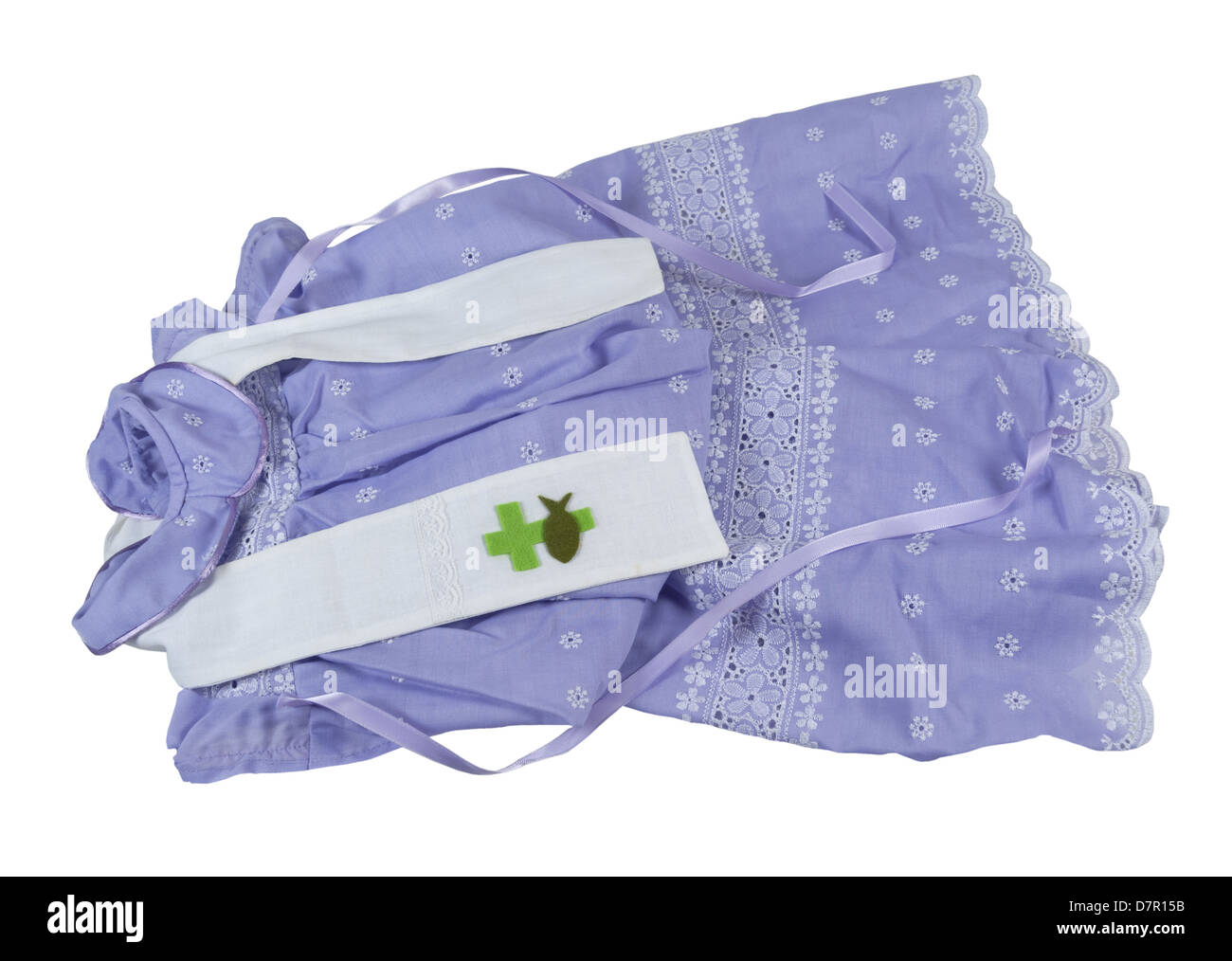 Christening Gown and Sash worn during the baptismal ceremony - path ...