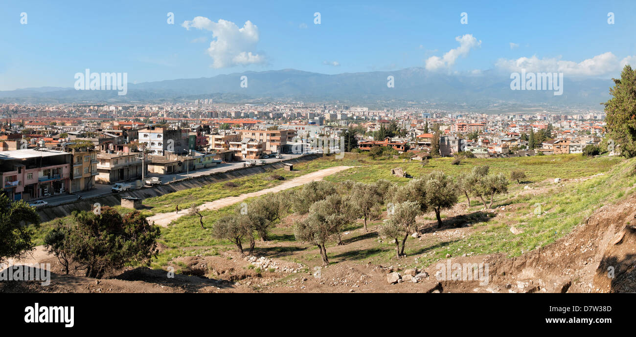 Panorama over Antioch, Hatay province, Southwest Turkey, Anatolia, Turkey Minor - Stock Image