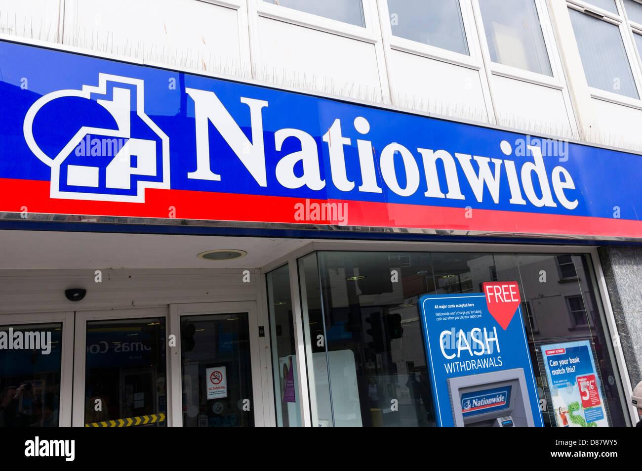Nationwide building society bank, UK Stock Photo