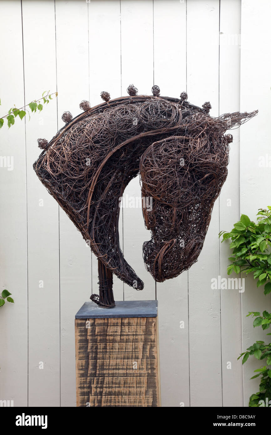 Barbed Wire Art Sculpture Horse Handcrafted Barbed Wire Art - Wire ...